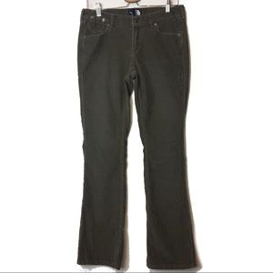 The North Face Womens Green Bootcut Corduroy Pants